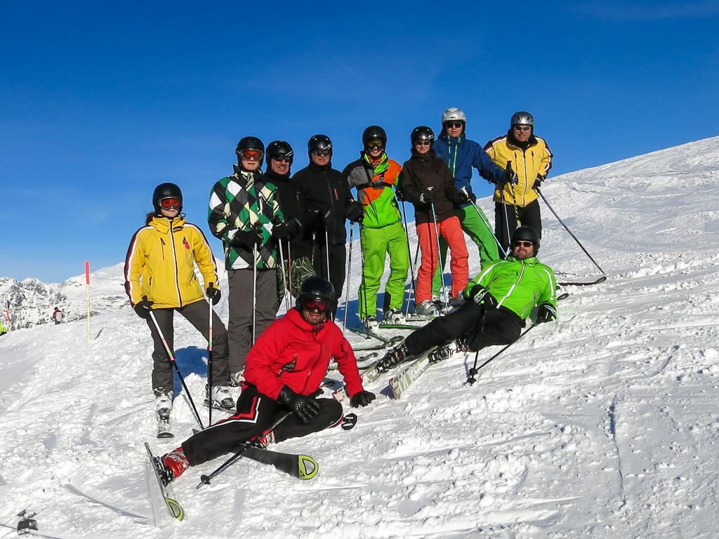 Ausschuss Skiabteilung im Januar 2015